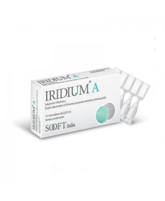IRIDIUM A GOCCE OCULARI 15 FLACONCINI MONODOSE 0,35 ML - Farmaciacarpediem.it