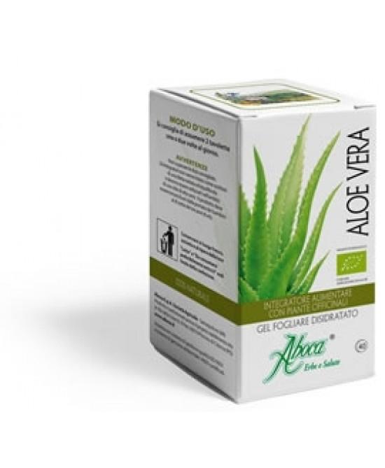 Aboca Aloe Vera 40 Tavolette Da 400mg - Farmaciaempatica.it
