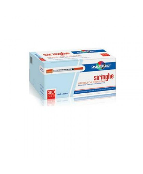 Master-Aid Siringa Per Insulina G30 0,5ml 30Siringhe