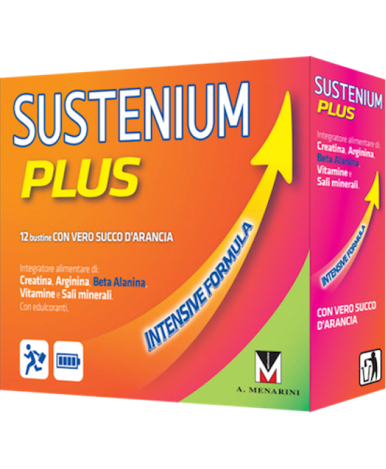 Sustenium Plus Intensive Formula Integratore Alimentare 12 Bustine - Farmafamily.it
