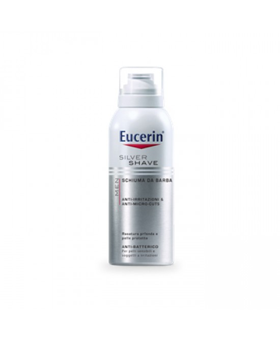Eucerin Men Silver Shave Schiuma Da Barba 150ml - Farmapage.it