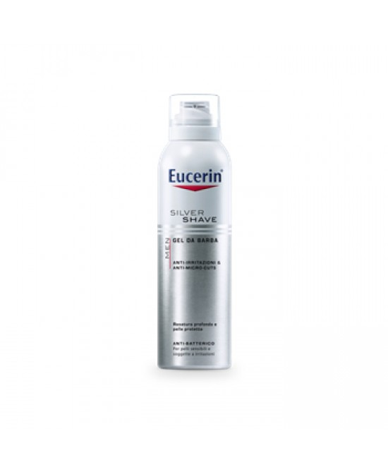 Eucerin Men Silver Shave Gel Da Barba 150ml - Farmapage.it