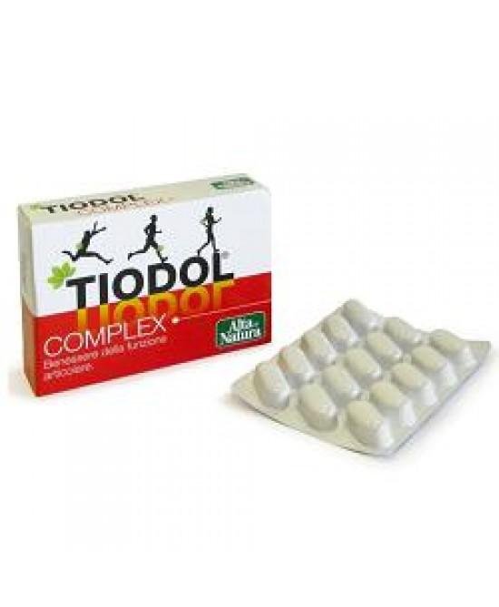 Tiodol Complex 30 compresse - Iltuobenessereonline.it