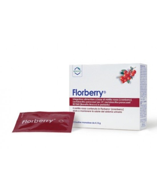 Bracco Florberry 10 Bustine Monodose Da 4,15g - Farmaciaempatica.it