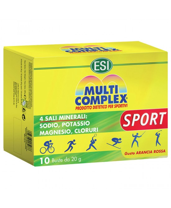Esi Multicomplex Sport 10 Bustine - Farmafamily.it