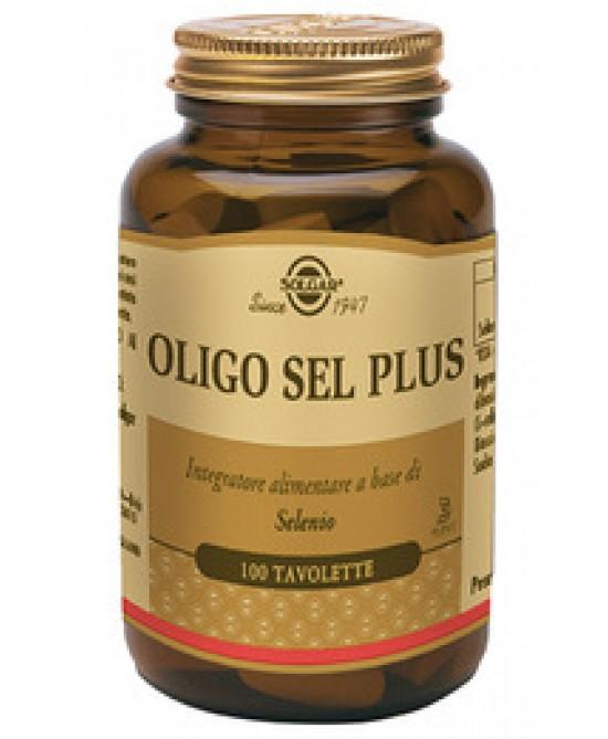Solgar Oligo Sel Plus 100 Tavolette - Farmabros.it