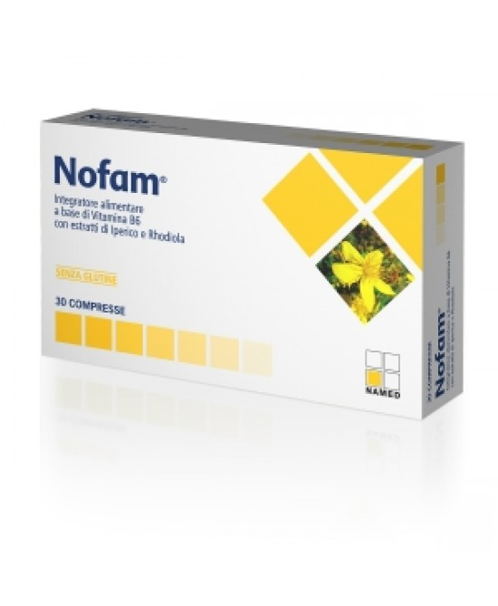 Named Nofam Integratore Alimentare 30 Compresse