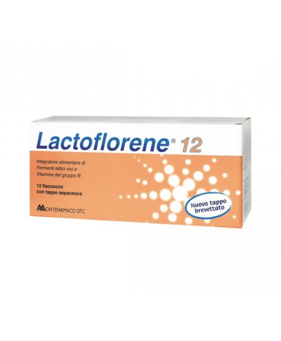 Montefarmaco Otc Lactoflorene Integratore Alimentare 12 Flaconcini - Farmaciaempatica.it
