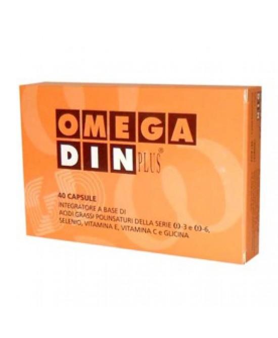Omegadin Plus Retard Integratore Antiossidante 30 capsule