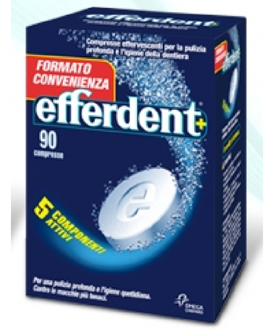 Efferdent 90 compresse Effervescenti - Farmafamily.it
