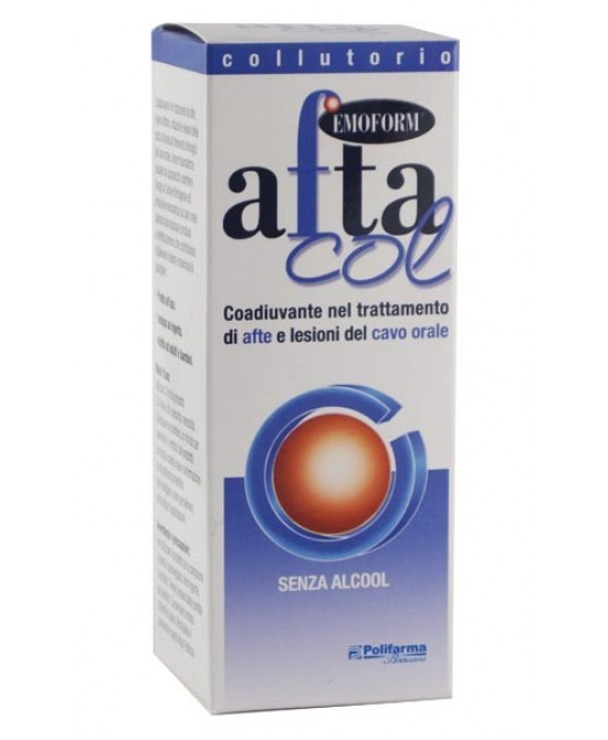 Emoform Aftacol Colluttorio 120ml - Zfarmacia