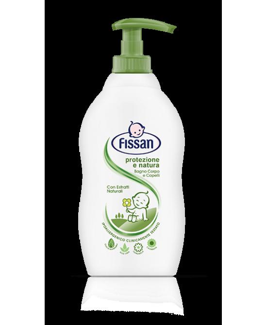 Fissan Baby Bagno Corpo E Capelli Protezione E Natura 400ml - Farmia.it