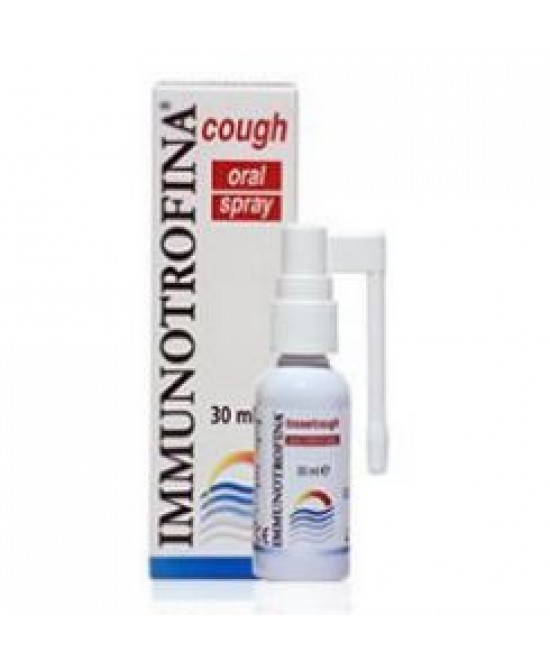 Immunotrofina Tosse Spray Orale 30ml - Farmastar.it