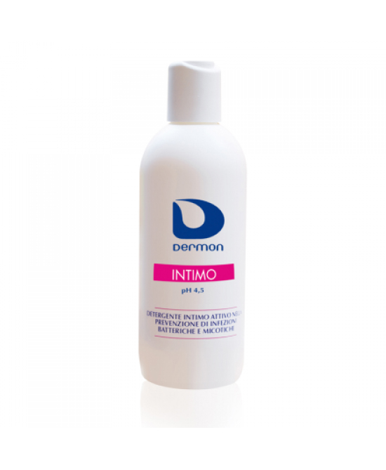 Dermon Detergente Intimo Ph4,5 500ml - Farmaunclick.it
