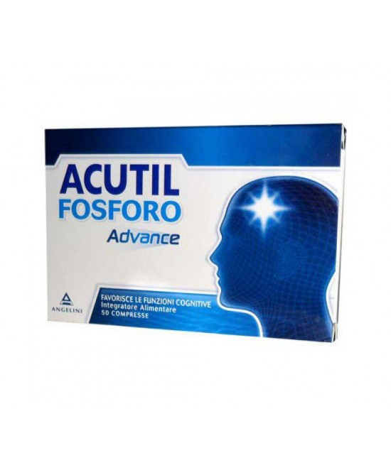 Acutil Fosforo Advance Integratore Alimentare 50 Compresse - Farmaciaempatica.it