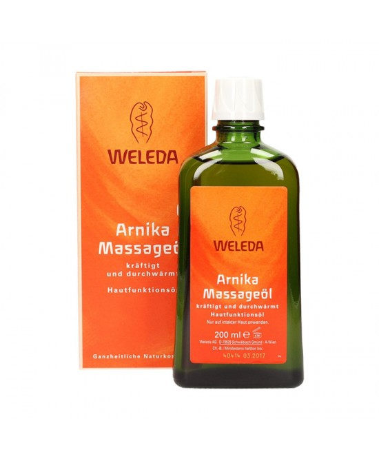 Weleda Olio Massaggi Arnica 200ml - Farmafamily.it