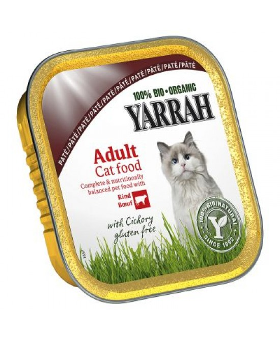 Yarrah Bio Wellness Paté Cibo Umido Per Gatti 100g - Farmafamily.it