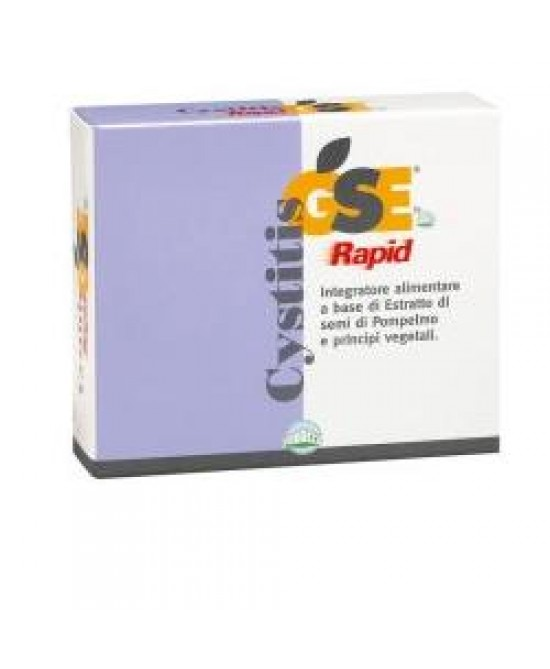 Gse Cystitis Rapid Integratore Alimentare Cistite 30 Compresse - Farmastar.it