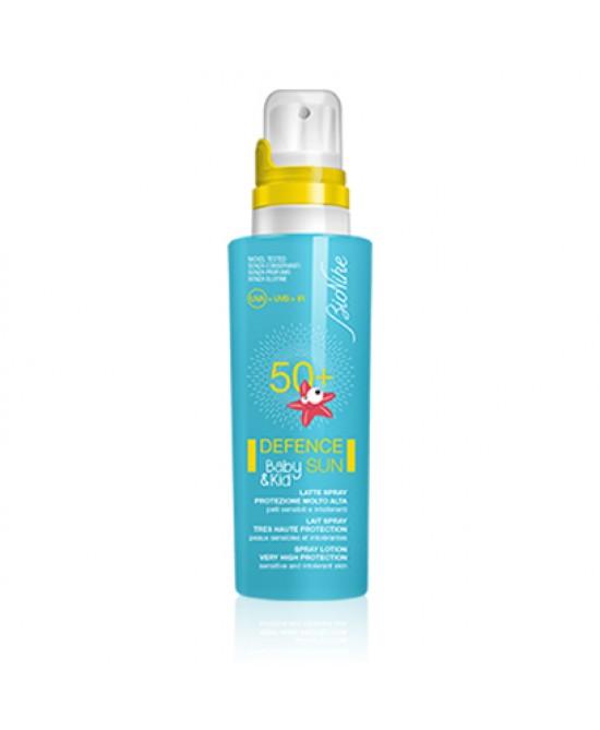 Bionike Solari Defence Sun Latte Solare Baby&Kid SPF 50+ Spray 125 ml - Zfarmacia