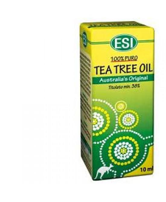 Esi Tea Tree Remedy Oil Benessere Vie Respiratorie Decongestionante 10 ml - latuafarmaciaonline.it