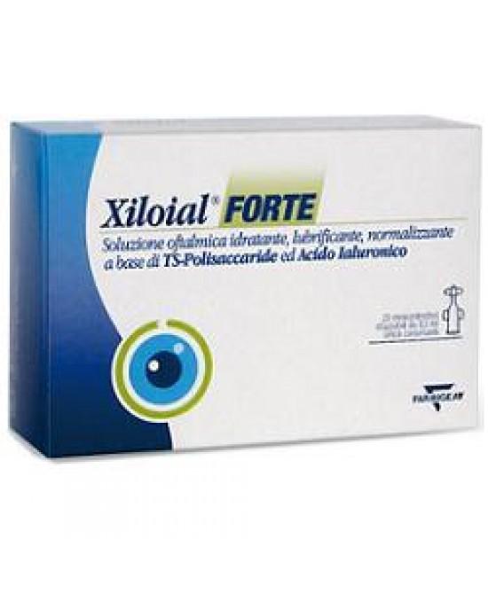 Xiloial Forte Monodose Soluzione Oftalmica 20 Flaconcini