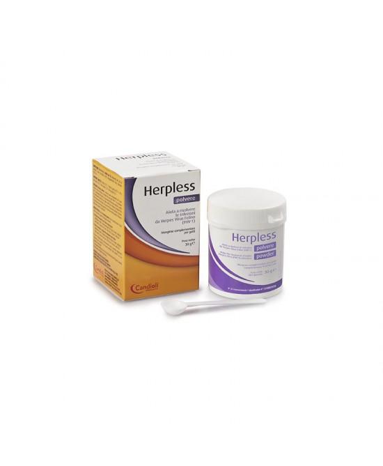 Candioli Herpless Polvere 30gr - Farmacento