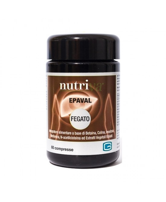 Nutriva Epaval Integratore Depurante 60 Compresse