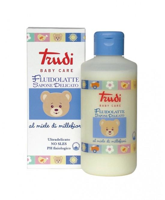 Trudy Baby Care Fluidolatte Sapone Delicato - Farmafamily.it