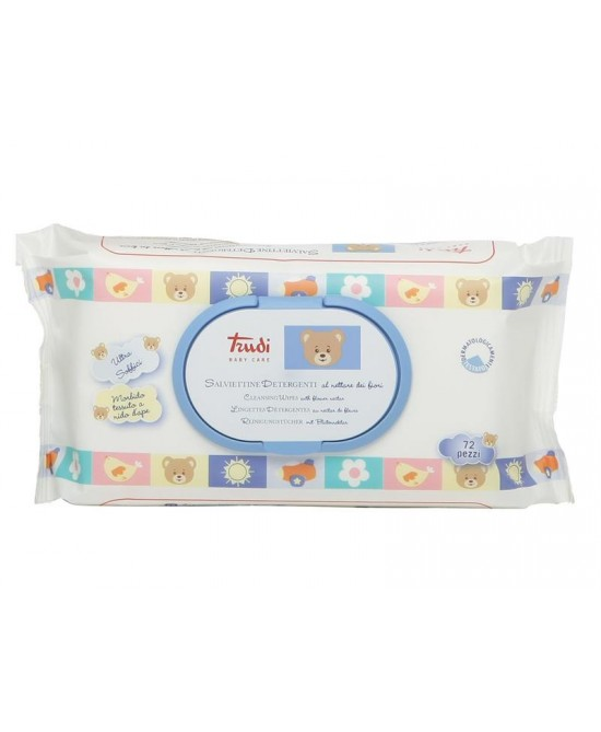 Trudy Baby Care Salviettine Detergenti 72 Pezzi - Farmafamily.it