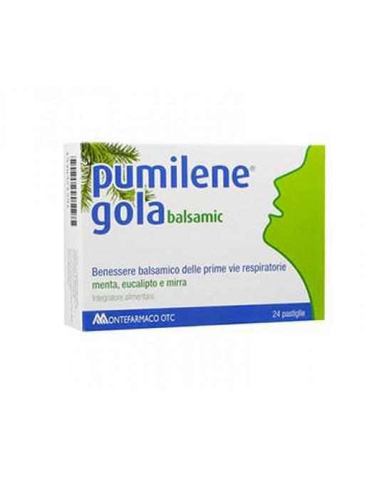 Montefarmaco OTC Pumilene Gola Balsamic Integratore Alimentare 24 Pastiglie - Farmacia 33