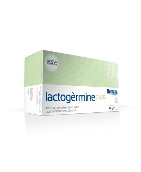Humana Lactogermine Plus Integratore di Fermenti Lattici 10 Flaconi - Farmaciasconti.it