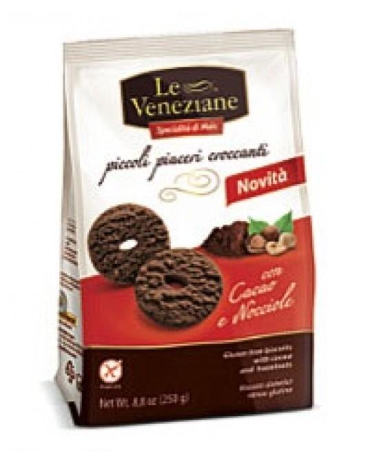 Molino Di Ferro Le Veneziane Biscotti Cacao E Nocciola Senza Glutine 250g - Parafarmacia la Fattoria della Salute S.n.c. di Delfini Dott.ssa Giulia e Marra Dott.ssa Michela