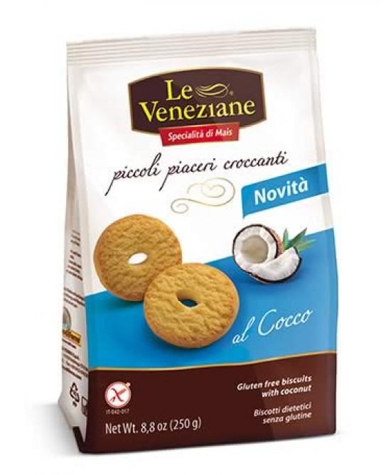 Le Veneziane Biscotti Al Cocco Senza Glutine 250g - Farmawing