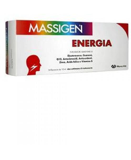 Massigen Energ Tonic 14fl 10ml - FARMAPRIME