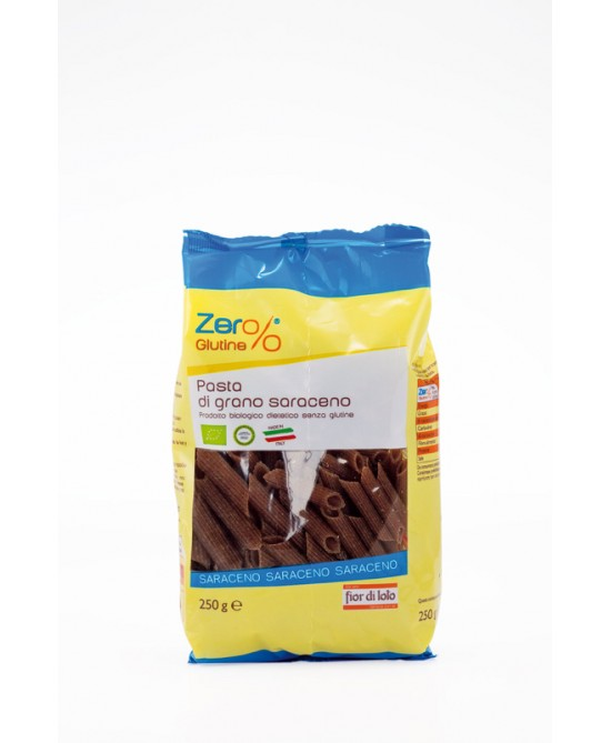 Zero Glutine Penne Di Grano Saraceno Biologico 250g - Farmacia 33