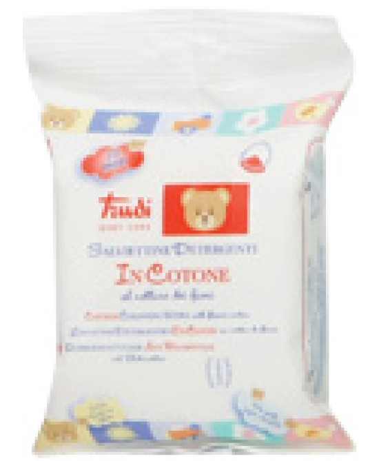Trudi Baby Care Salviettine Detergenti In Cotone 20 Pezzi - Farmafamily.it