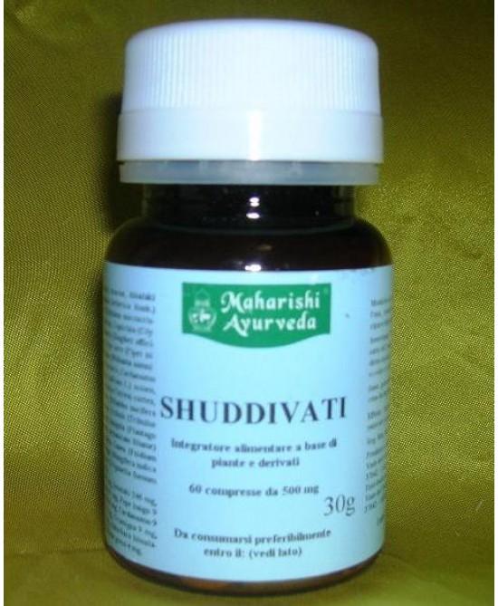 Maharishi Ayurveda Shuddivati Integratore Alimentare 60 compresse - Farmapage.it