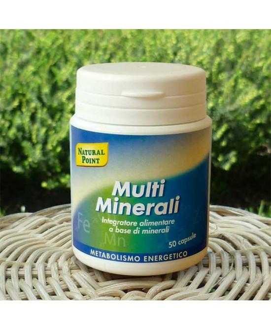 Natural Point Multi Minerali Integratore Alimentare 50 Capsule