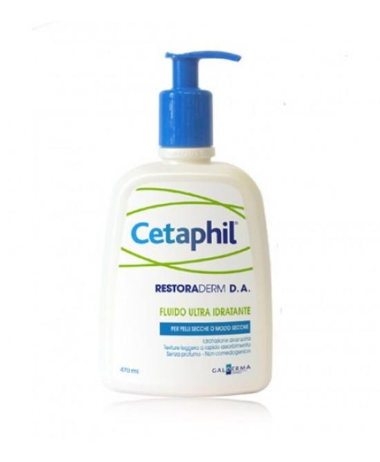 Cetaphil Fluido Ultra Idratante Pelle Secca 470 ml