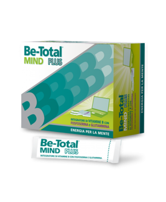 Be-Total Mind Plus Integratore Alimentare 20 Bustine - Farmafamily.it