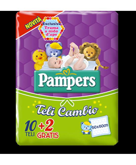 Pampers Teli Cambio 60x90cm 12 Teli - Farmapage.it