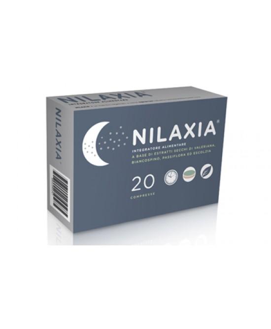 Nilaxia Integratore Per il Sonno Valeriana e Biancospino 20 Compresse