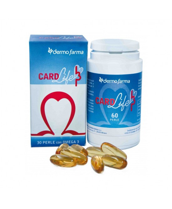Dermo Farma Card Life 3 Integratore Alimentare 30 Perle