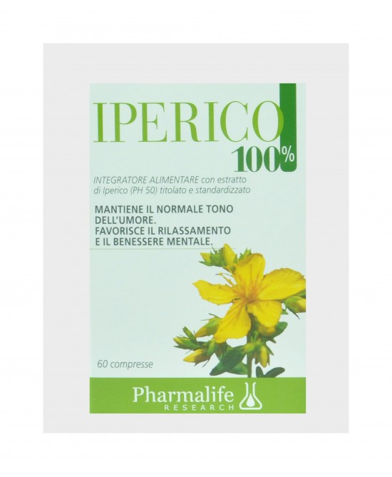 Pharmalife Research Iperico 100% Integratore Alimentare 60 Compresse - latuafarmaciaonline.it