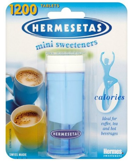Hermesetas Dolcificante 1200 Compresse - Farmafamily.it
