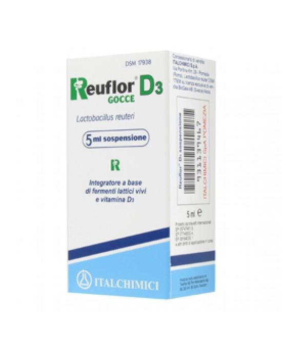 Reuflor D3 Gocce 5ml - Farmacistaclick