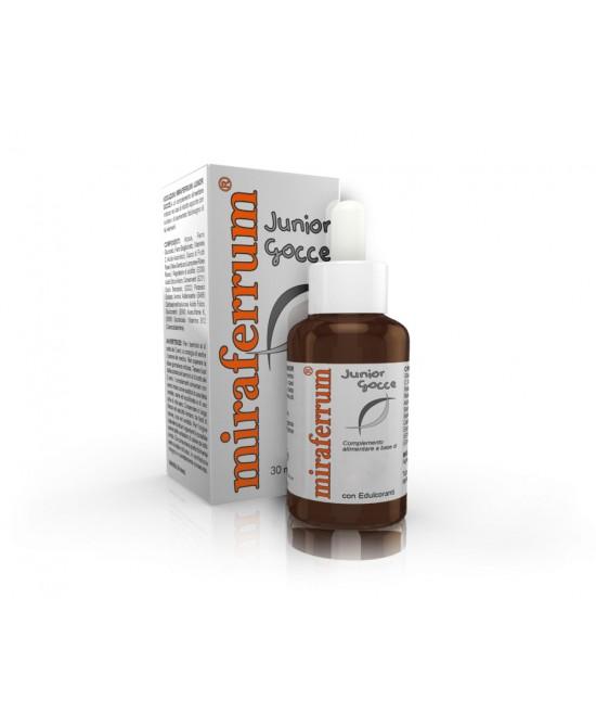Miraferrum Junior Gocce 30ml - Farmacia Giotti