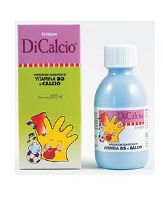 Dicalcio Sciroppo 200ml - Farmastar.it