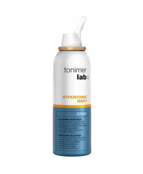 Tonimer Lab Hypertonic Baby Spray 100ml - La farmacia digitale