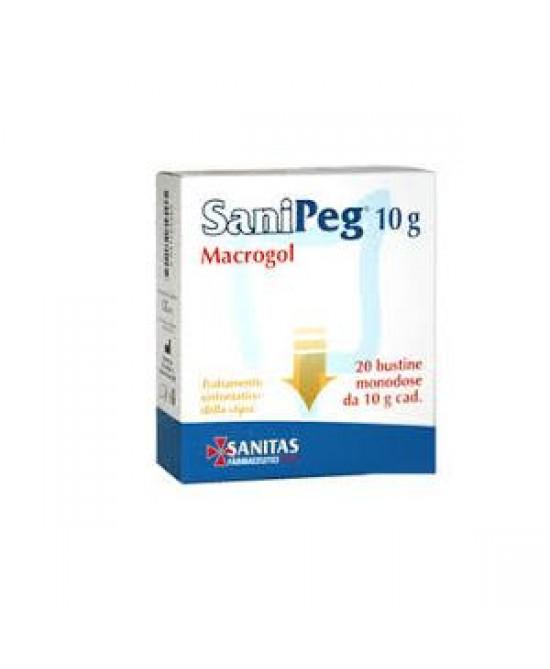 Sanipeg Macrogol 10g 20 Buste - Speedyfarma.it